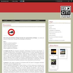 Présentation - Citi