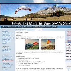 Parapente St Victoire