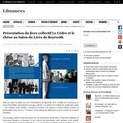 Présentation du livre collectif Le Cèdre et le chêne au Salon du Livre de Beyrouth