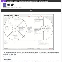 Une liste de modèles visuels pour n'importe quel projet ou présentation : collection de modèles de pensées