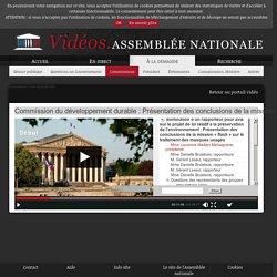 ASSEMBLEE NATIONALE 28/01/21 Audition : Commission du développement durable : Présentation des conclusions de la mission « flash » sur le traitement des masques usagés