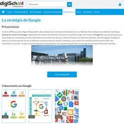 Google : présentation, concurrents et stratégies de Google
