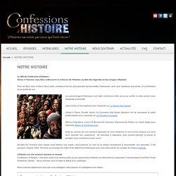 projet Confessions d'Histoire
