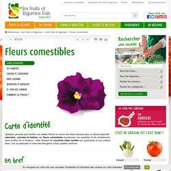 Les fleurs comestibles : présentation, production, consommation