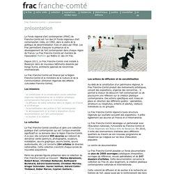 pr sentation du fonds r gional d'art contemporain de Franche-Comt