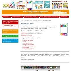 Présentation vidéo - L'Agenda coopératif - Office central de la coopération à l'école