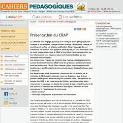 Présentation du CRAP