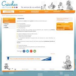 Présentation - Crèches de France