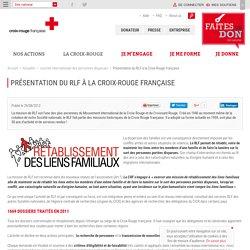 Présentation du RLF à la Croix-Rouge française