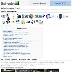 Présentation d'Ed-Win - Wiki Ed-Win.net