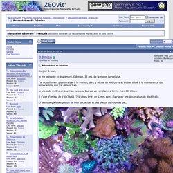 Présentation de D@mien - zeovit.com