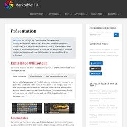 Présentation – darktable FR
