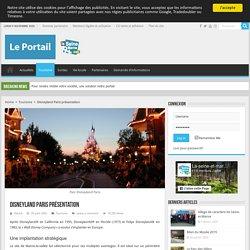 Présentation Disneyland Paris première destination touristique européenne