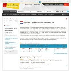Présentation du marché du vin néerlandais - Pays-Bas