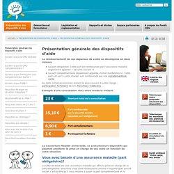 Présentation générale des dispositifs d'aide (CMU de base, CMUC, ACS, AME)