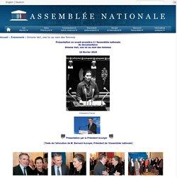 Présentation en avant-première du documentaire, Simone Veil, une loi au nom des femmes, 16 février 2010