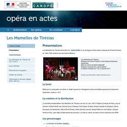 Les mamelles de Tirésias - Francis Poulenc - Réseau canopé