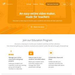 Présentation animée - Explee éducation