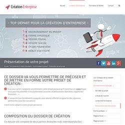 Présentation de votre projet - Création Entreprise Guide