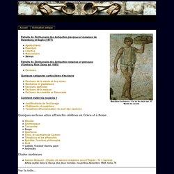 Présentation de l'esclavage dans l'antiquité gréco-romaine