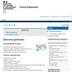 Présentation du Panama - Ministère de l'Europe et des Affaires étrangères