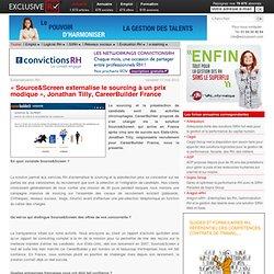 Présentation de la solution Source&Screen pour externaliser le sourcing et la présélection
