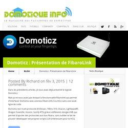 Domoticz : Présentation de FibaroLink