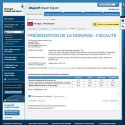 Présentation de la Norvège : Fiscalité - Objectif Import Export
