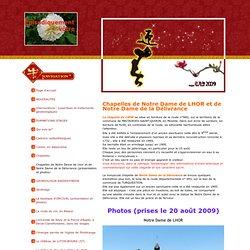 Chapelles de Notre Dame de Lhor et de Notre Dame de la Délivrance (présentation et photos) - fleurdevie57s jimdo page!
