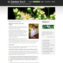 Présentation des fleurs de Bach