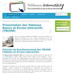 Présentation du TBI - Explication du fonctionnement du tableau blanc interactif