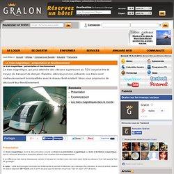 Le train magnétique : présentation et fonctionnement