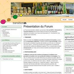 Présentation du Forum