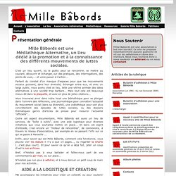 Présentation générale - Mille Babords
