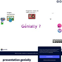 presentation genially
