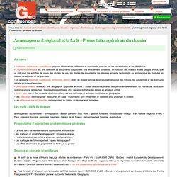 Géoconfluences - Forêt et aménagement régional