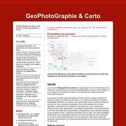 Concours : Cartographie ton quartier