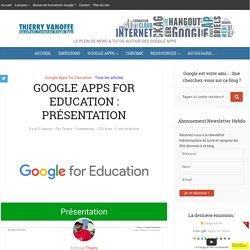 Présentation de Google Apps for Education