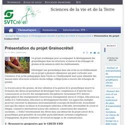 Présentation du projet Grainocréteil
