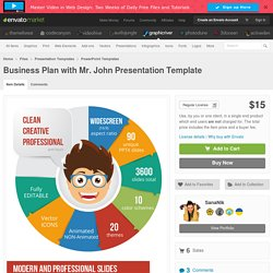 Business Plan with Mr. John Presentation Template