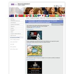 Présentation de quelques jeux sérieux en français disponibles gratuitement sur Internet