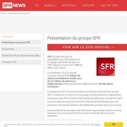 Présentation Du Groupe SFR