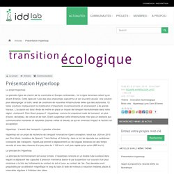 Présentation Hyperloop - Iddlab