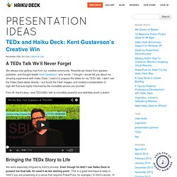 Presentation Ideas, Tips, and Case Studies
