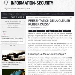 Présentation de la clé USB Rubber Ducky - Information Security