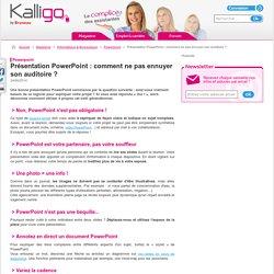 Présentation PowerPoint : comment ne pas ennuyer son auditoire ? - Powerpoint, Informatique & Bureautique