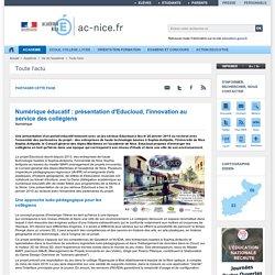 Numérique éducatif : présentation d'Educloud, l'innovation au service des collégiens