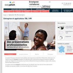 TBI entreprise : présentation interactive en entreprise - animation de réunions