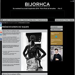 Présentation du salon Eclat de Mode – Bijorhca - Le salon professionnel international spécialiste du bijou mode - 20 au 23 jan. 12 - Paris