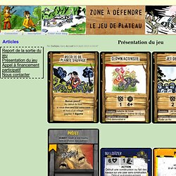 Présentation du jeu - Zadlejeu